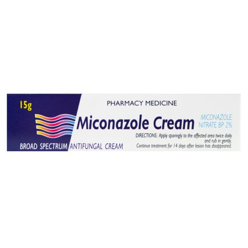 MICONAZOLE Topical Cream 15gm
