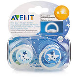 Avent 6m+ Night Soother 2pk 4058