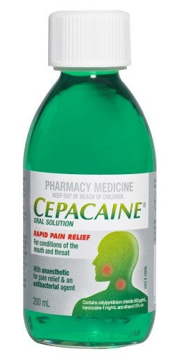 Cepacaine Solution 200ml