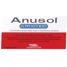 Anusol Suppositories 12