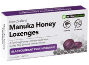 AN Honey Drops Blackcurrent + Vitamin C 16 Lozenges