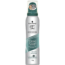 SCHWARZKOPF EXTRA CARE Mousse Strong Hold 150g
