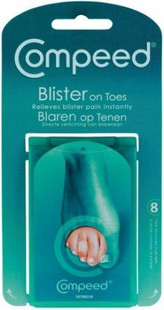 COMPEED Blister On Toes Plaster 8 Pack