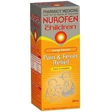 Nuofen Children Ibuprofen Liquid Orange 200ml