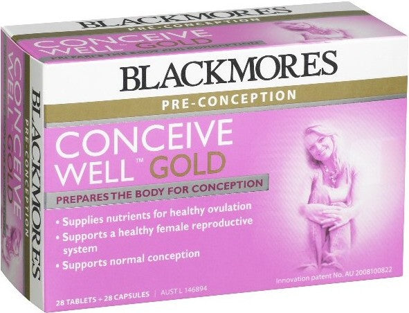 Blackmores Conceive Well Gold 28/28 tab/cap