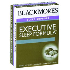 Blackmores Executive Sleep Form. Tab 28