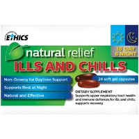 ETHICS Natural Relief Ills & Chills 24