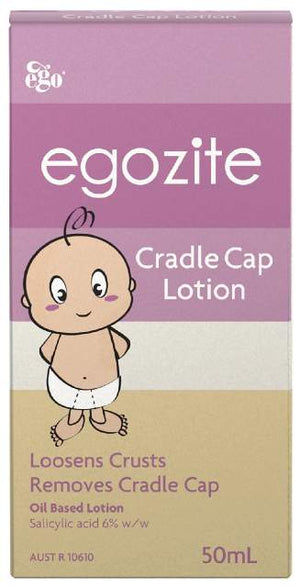 Ego Egozite Cradle Cap Lotion 50ml