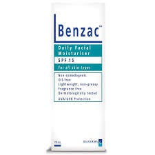 BENZAC Daily Face Moist SPF15 118ml