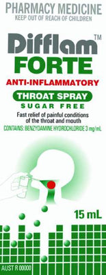 DIFFLAM Forte Throat Spray 15ml