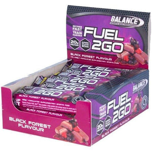 BAL F2GO Prot.Bar 60g Blk Forest 12