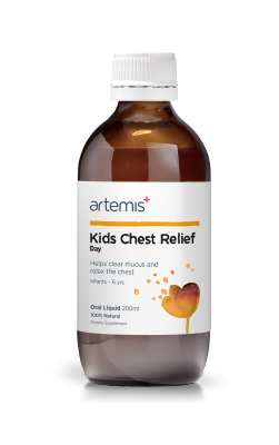 Artemis Chest Relief Kids Day 100ml