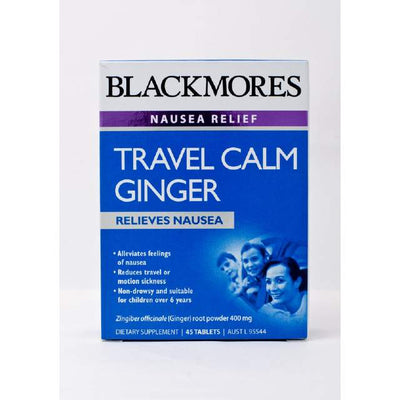 Blackmores Travel Calm Ginger 45s