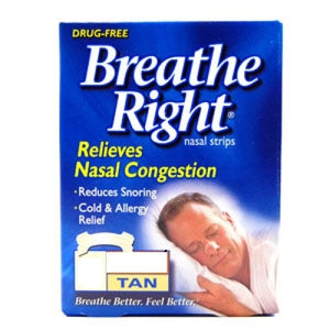 Breath Right Strips Tan Large 30s