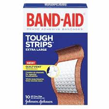 BANDAID Tough Strips Extra Large XL 10