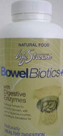 Lifestream Bowel Bio+ Advanced Digestive Enzymes 60s