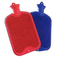 Hot Water Bottle DoubleRib Asst