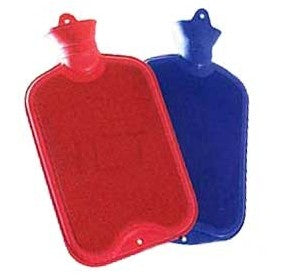 Hot Water Bottle Double Rib Assorted