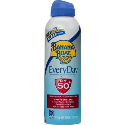 Banana Boat Everyday SPF50+ 175g Spray