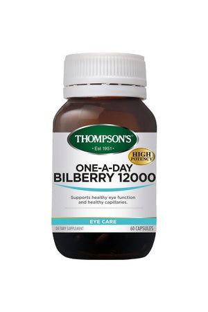 Thompsons One a Day Bilberry 30s