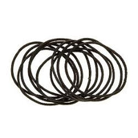 Mita Hair Tie Brown Snag-Free Large 28