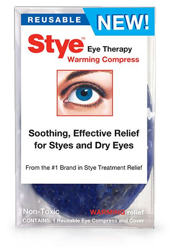Stye Away Eye Warm Compress Reuse