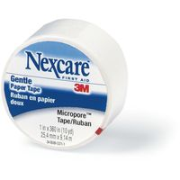 Nexcare Gentle Tape 12.5mmx9.1m White