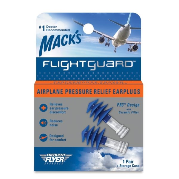 MACKS Flight Guard Ear Plugs 1pair