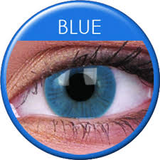 Colourvue Basic Blue Colour Contact Lenses 1 Pair