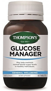 Thompsons Glucose Manager with Fenugreek 60s