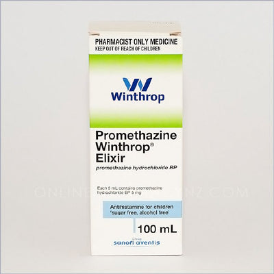 Allersoothe Promethazine Winthrop Elixir 100ml