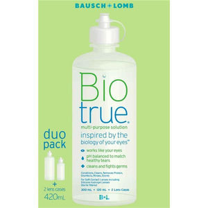 Bausch & Lomb Biotrue Multi Purppse Duo 300ml+120ml