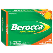 BEROCCA Performance Orange 45s