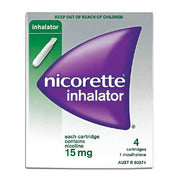 NICORETTE Inhalator 15mg 4