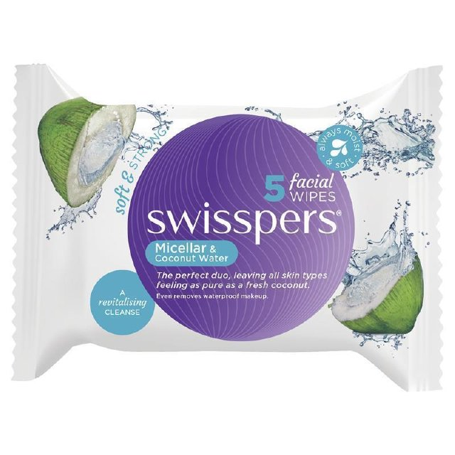 SWISSPERS Fac. Wipes Micellar&CW 25