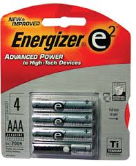 BATTERY ENERGIZER AAAA E2 /E9 2 Pack