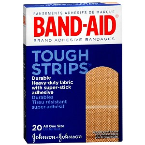 BANDAID Tough Strips Regular 20
