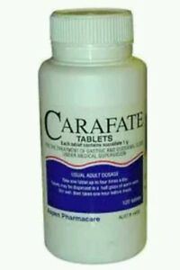 CARAFATE TABS 1G 120