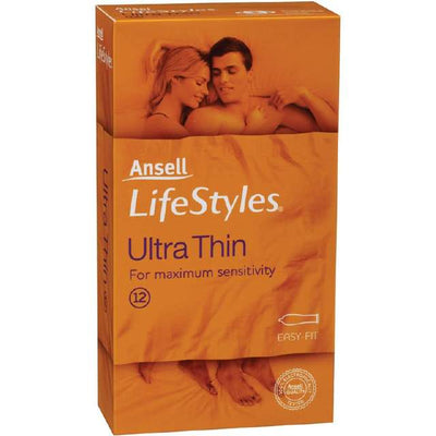 Ansell Lifestyle Ultra Nude Thin 12