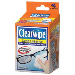 Clearwipe Lens Cleaner 20 Pack