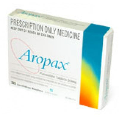 AROPAX Paroxetine 20mg Tablets 30 (PRESCRIPTION ONLY)