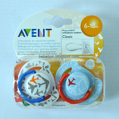 AVENT 6m+ Fashion Soother 2pk