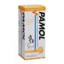 Pamol All Ages Orange Colourfree 250mg/5ml 100ml