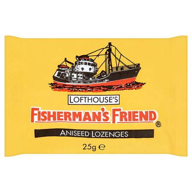 FISHERMANS FRIEND MENTHOL ANISEED