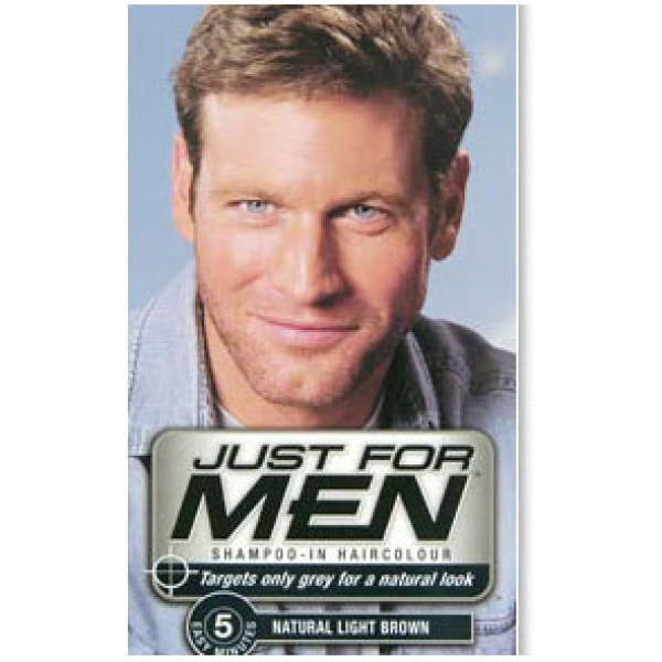 MEN Hair Light Brown