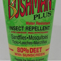 BUSHMAN Plus Dry Gel 80% + Sunscreen 75g