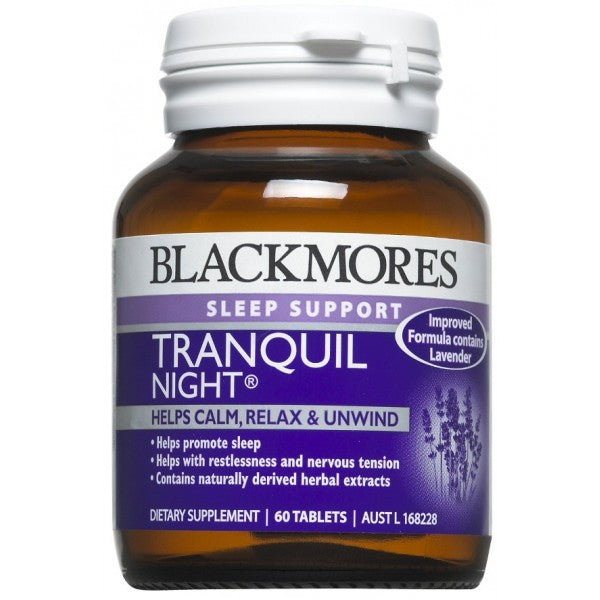 Blackmores Tranquil Night Tabs 60