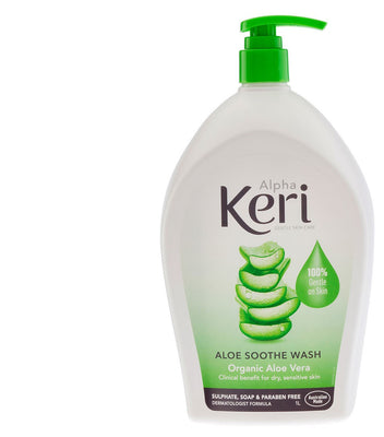 ALPHA KERI Aloe Sooth Gentle Wash 1L
