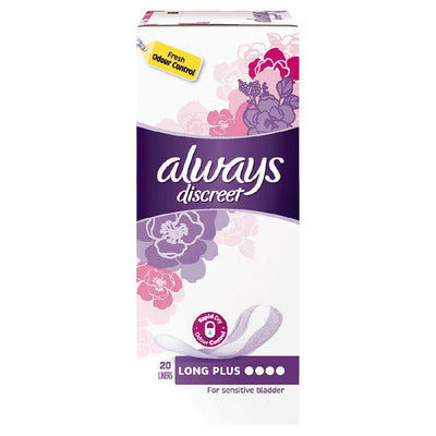 ALWAYS DISCREET Liner Plus 20pk
