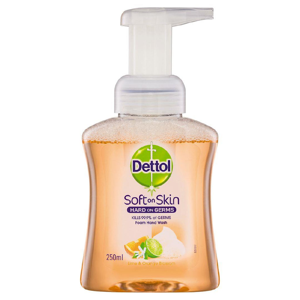 DETTOL Hand Wash Foam Lime and Orange Pump 250ml